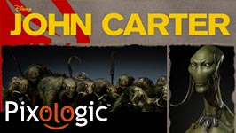 "News: Case Study- See how Pixologic ZBrush was Used in Disney's ""John Carter"""