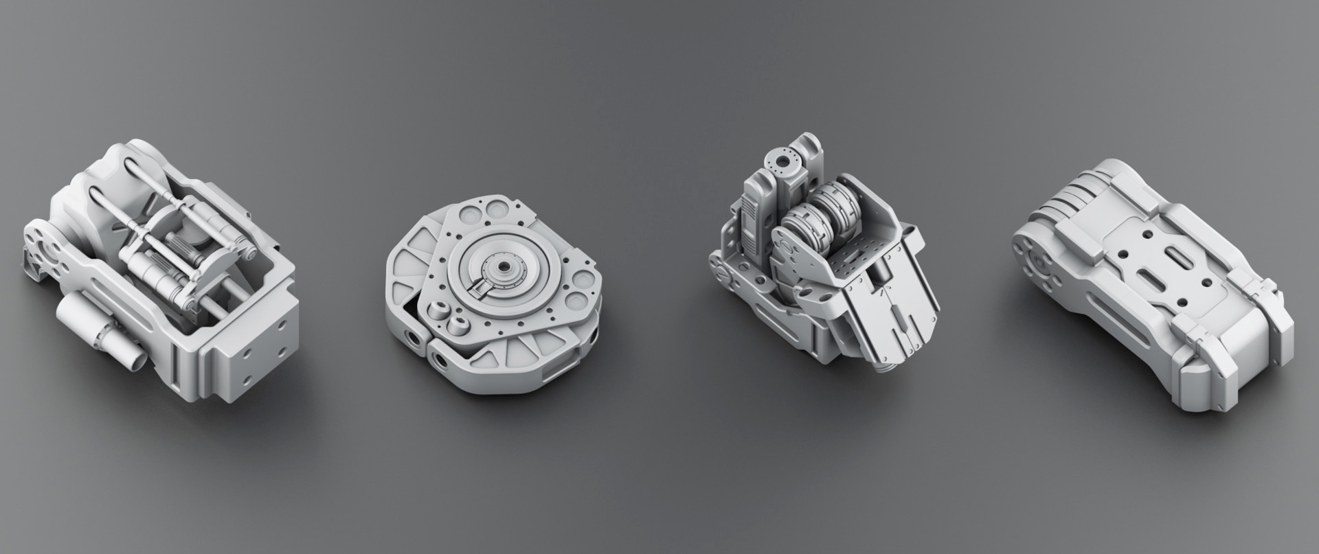 Cinema 4D: Use Kitbash 3D Models to Build a Space Colony in