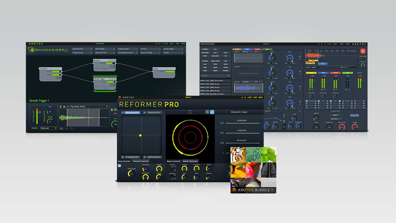 New: Krotos Sound Design Bundle