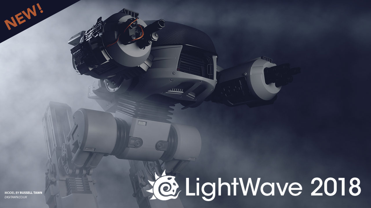 New: NewTek Announces Latest Release of LightWave 3D® 2018