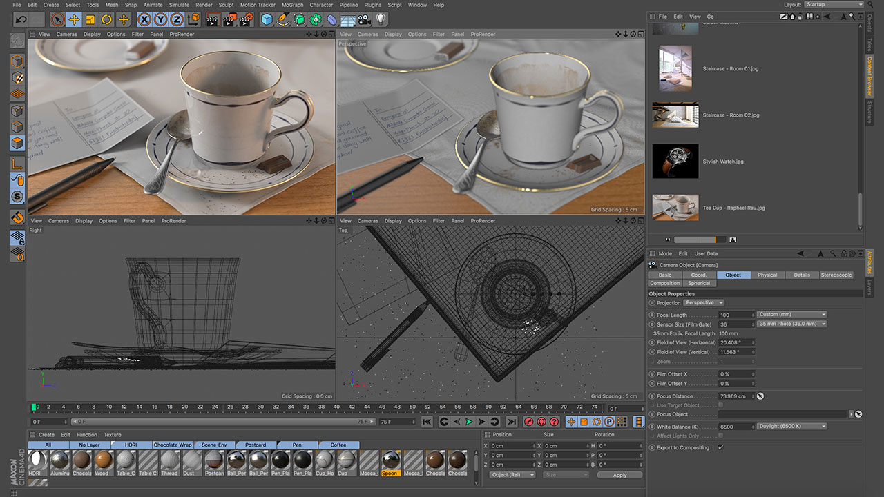News: More Details on Maxon Cinema 4D Release 19 - Toolfarm