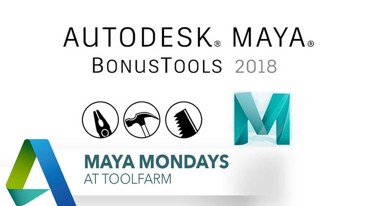Maya Monday - Page 3 of 5 Tutorials - Toolfarm