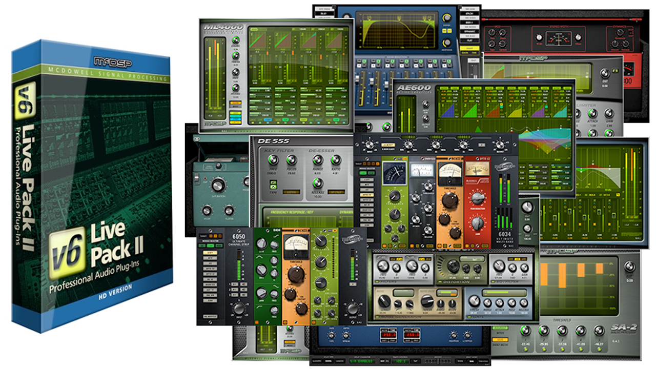 New/Sale: McDSP Live Pack II Is Now Available – Special Intro Price Only $499