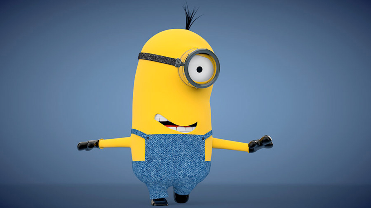 Freebie: Minion V2 3D Model from Renderking