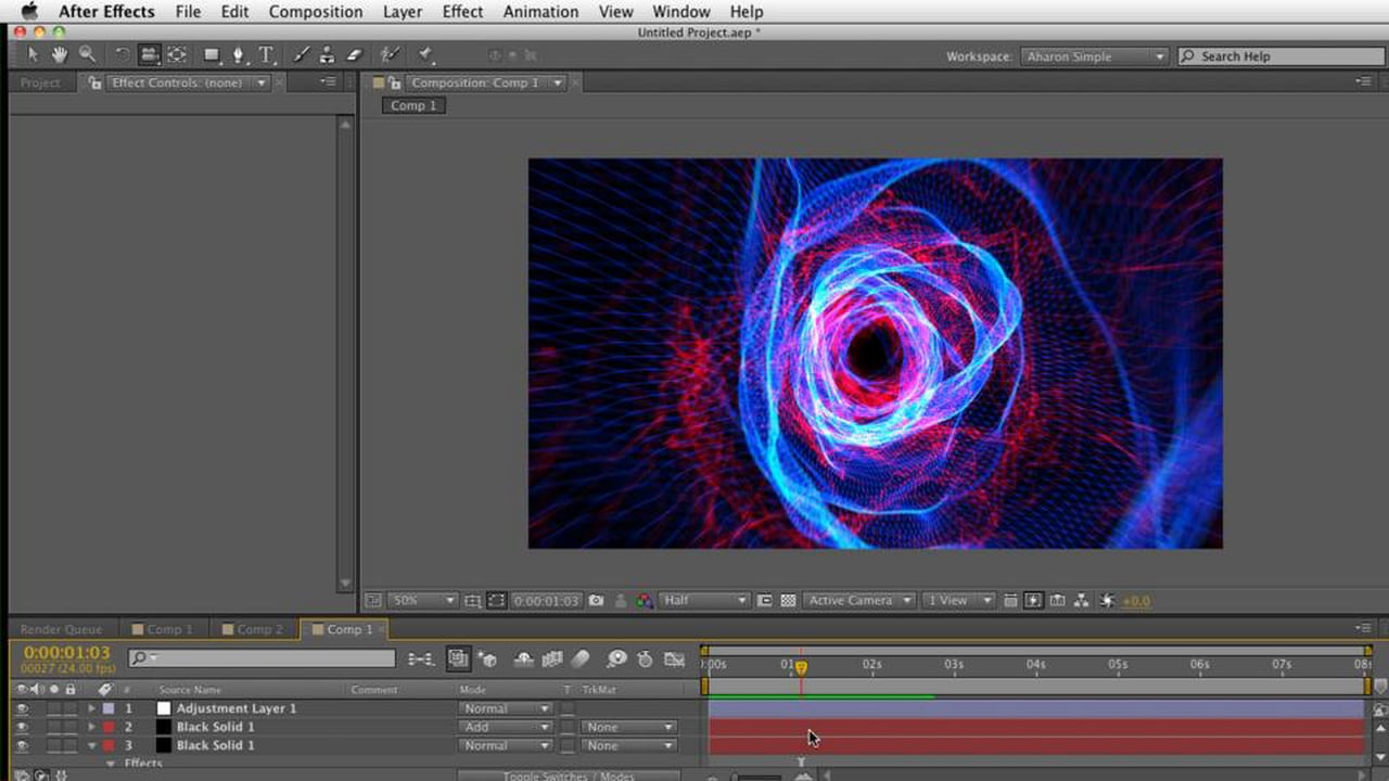Create a Tunnel with Trapcode Mir