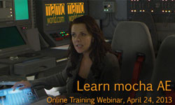 Webinar: Motion Tracking & VFX Webinar - Learning mocha AE