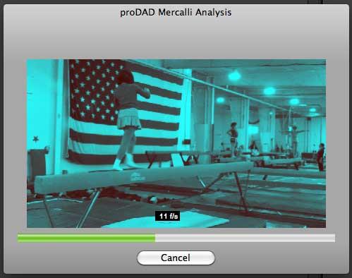 Mercalli Analysis window