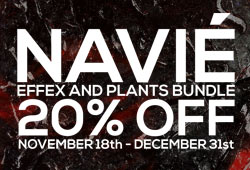 Sale: 20% Off NAVIE Effex and Plants Bundle