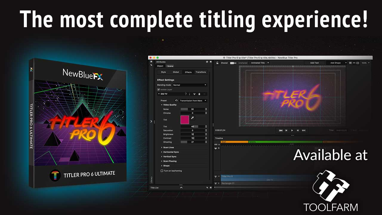 Resultado de imagen para NewBlueFX Titler Pro 6