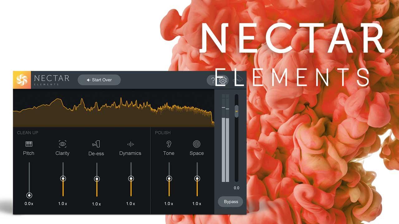 New: iZotope Nectar Elements, Updated Elements Bundle +