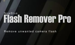 New: NewBlue FX Flash Remover Pro - Remove Unwanted Photography Flash from Video