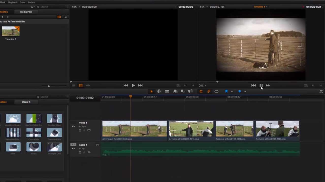 Retro Film Effects with BCC OFX - Toolfarm