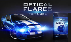 Sneak Peek: Video Copilot Optical Flares for Nuke