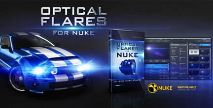 video copilot optical flares for nuke