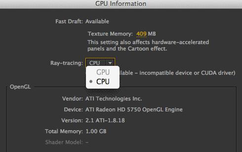 GPU Greyed out