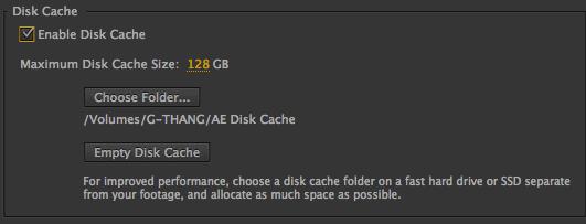 disk cache
