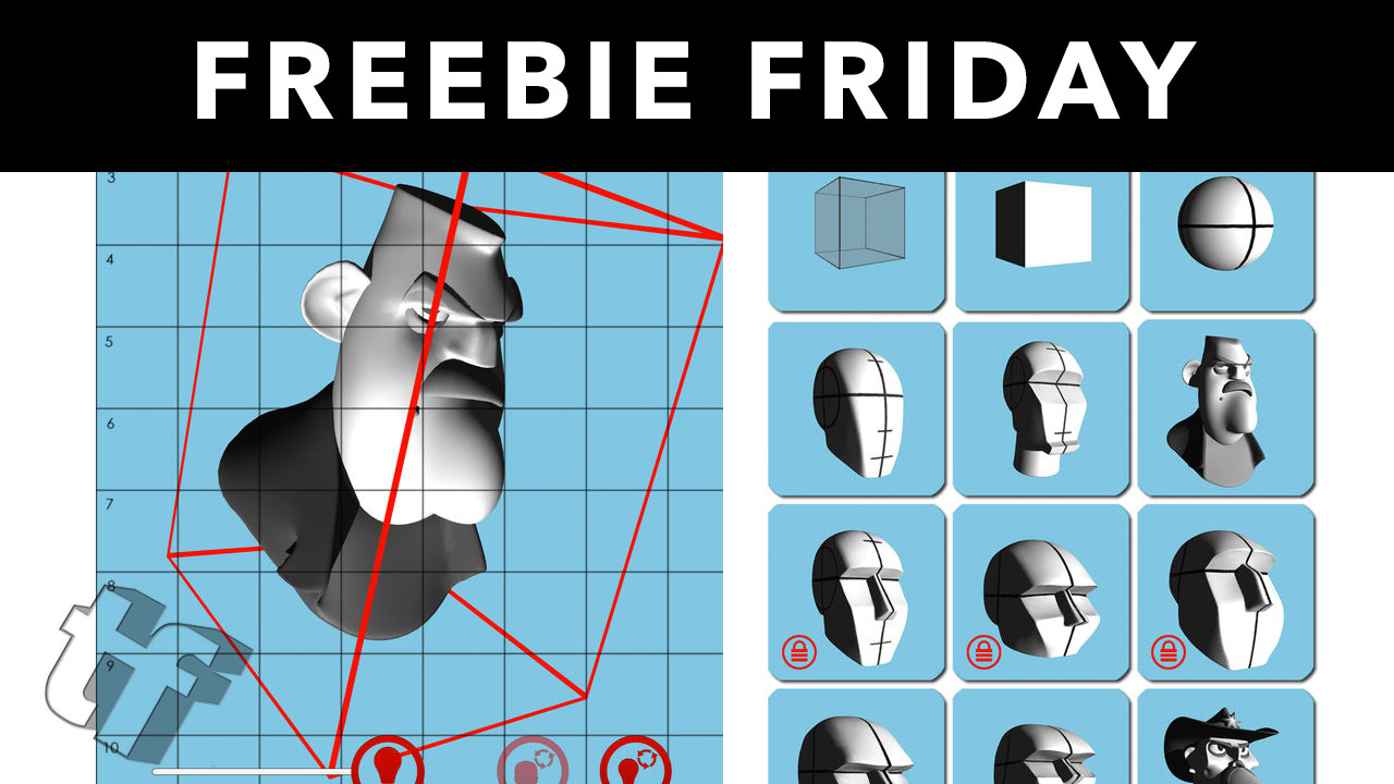 Freebie Friday: Posebook 3D