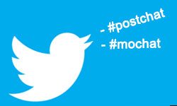 News: On Twitter? Follow hashtags #postchat, #mochat and #euromochat to Connect with Industry Tweeps