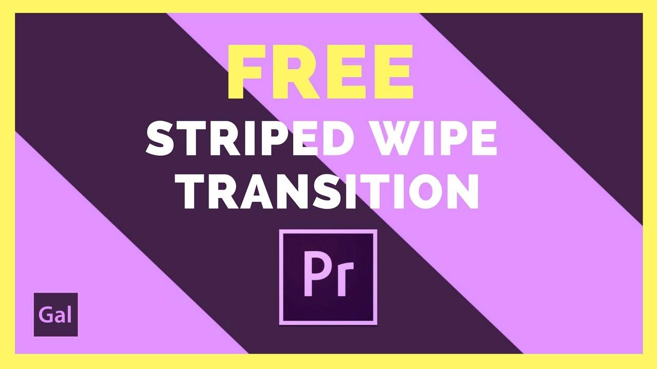 Freebie: Premiere Pro Free Transition Wipe with Tutorial - Toolfarm