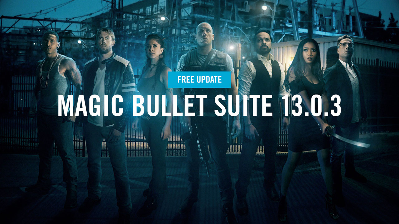 Update: Red Giant Magic Bullet Suite 13.0.3 adds extra hardware support and bug fixes