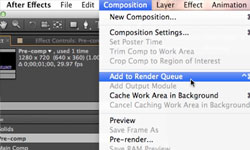 Tips: 4 Things You May Not Know About the After Effects Render Queue/ Adam Miller