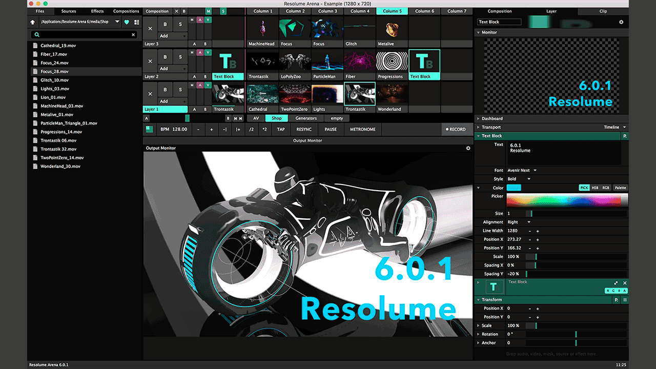 Update: Resolume 6 0 1 + Resolume tutorial - Toolfarm