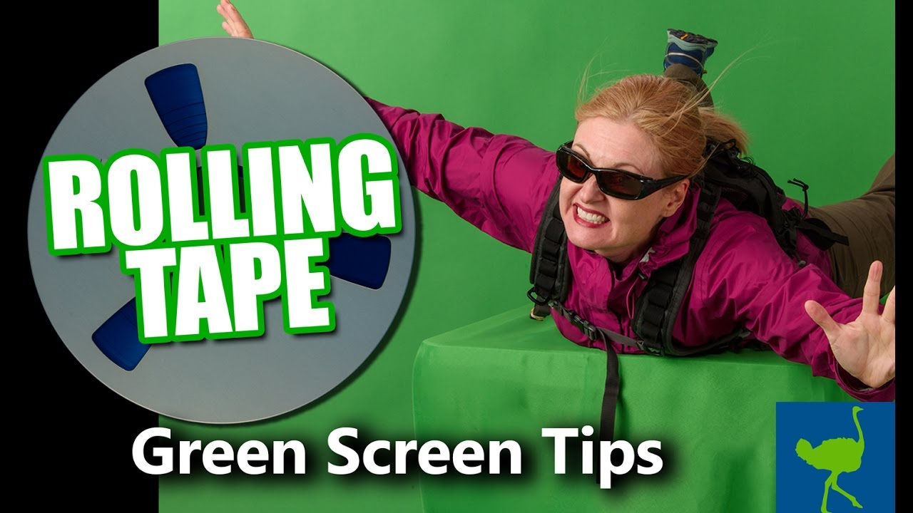 Tutorial: Green Screen Tips: Preparing Footage | Rolling Tape