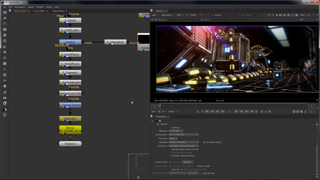 The Foundry NUKE and NUKE X Tutorials - Toolfarm