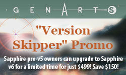 Sale: GenArts Sapphire Version Skipper Promo