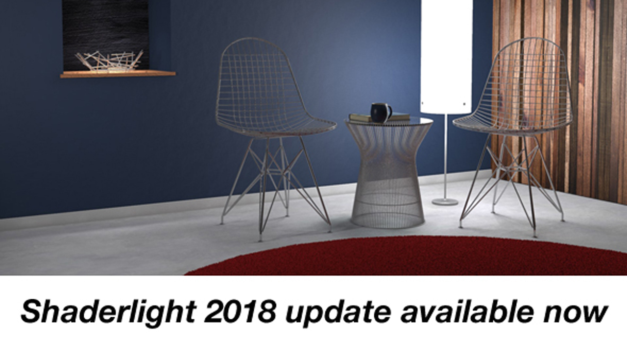 Update: Shaderlight 2018 (v6.1) – Render Soft Shadows with IES Light Profiles