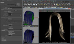 Tutorial: The Blue Project: Skin Sculpting and Hair Styling