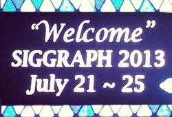 News: Siggraph 2013 in Pictures and News from the Show