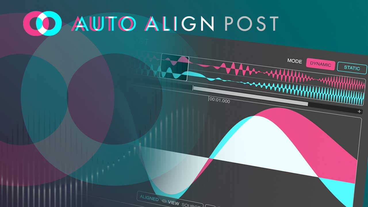 New: Sound Radix Auto-Align Post is Now Available