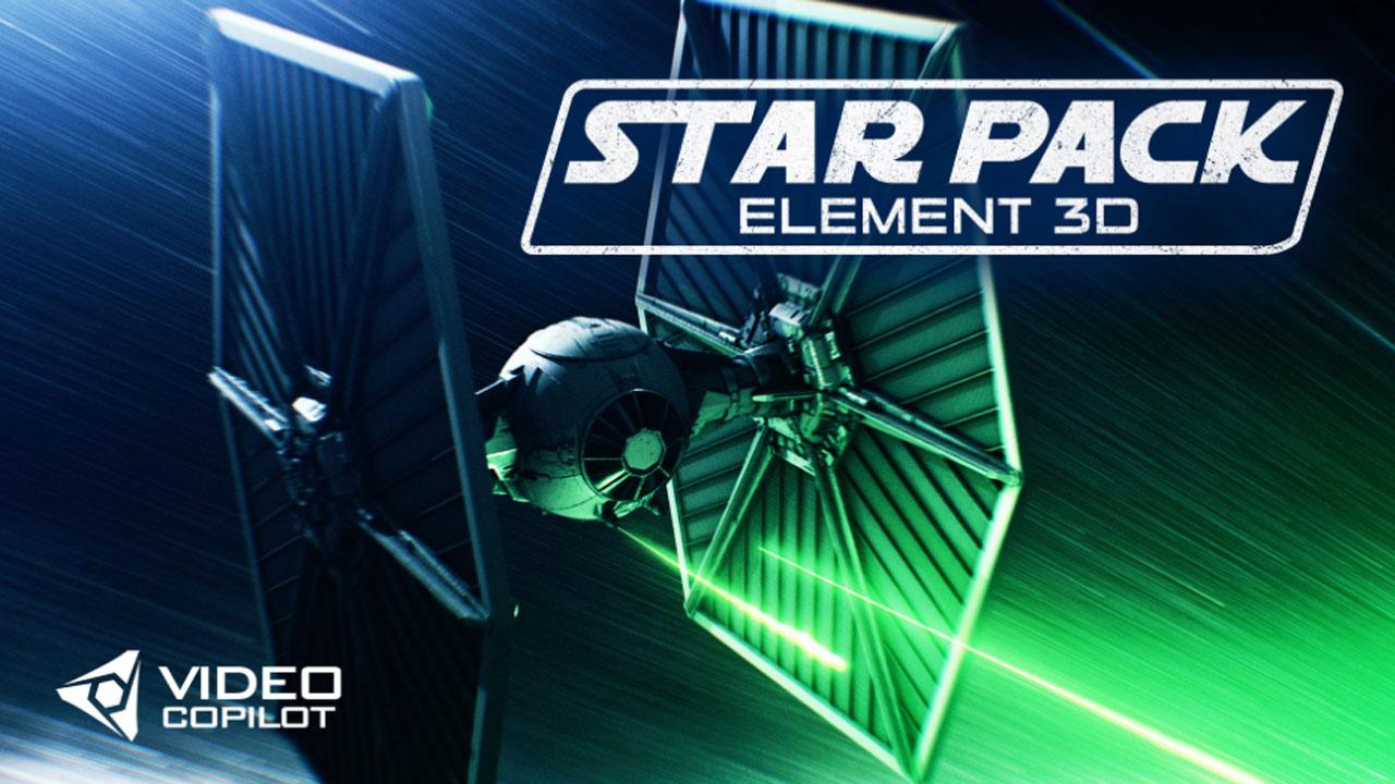 Video Copilot Star Pack for Element 3D