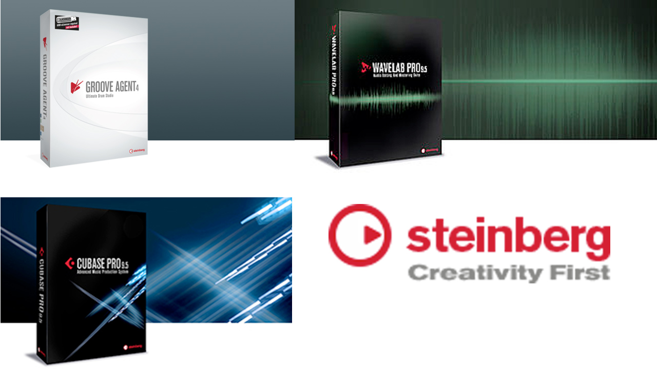 Updates: Steinberg WaveLab, Cubase, Groove Agent - Maintenance Updates Available