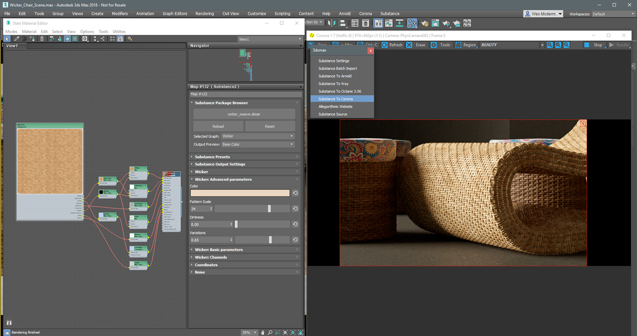 Update: Substance in 3ds Max: Now Ready For Production