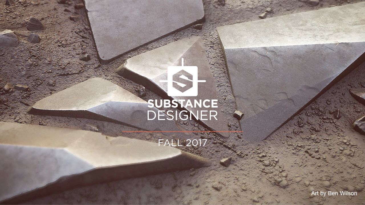 Update: Substance Designer 2017.2 – Packed with Creative Nodes
