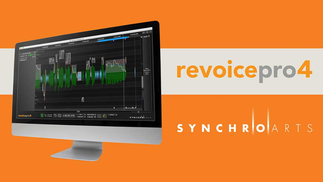 New: SynchroArts Revoice Pro 4 Now Available, Intro Pricing through October 17