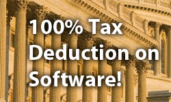 Considering Buying Software, Upgrades or Hardware? Get a 100% U.S. Tax Deduction!
