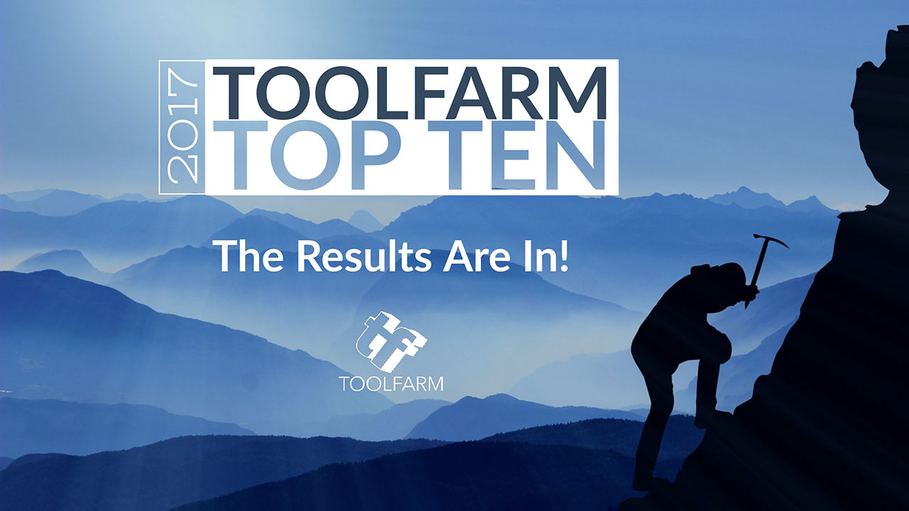 News: Toolfarm Top 10 Plug-in Awards 2017- The Results Are in!