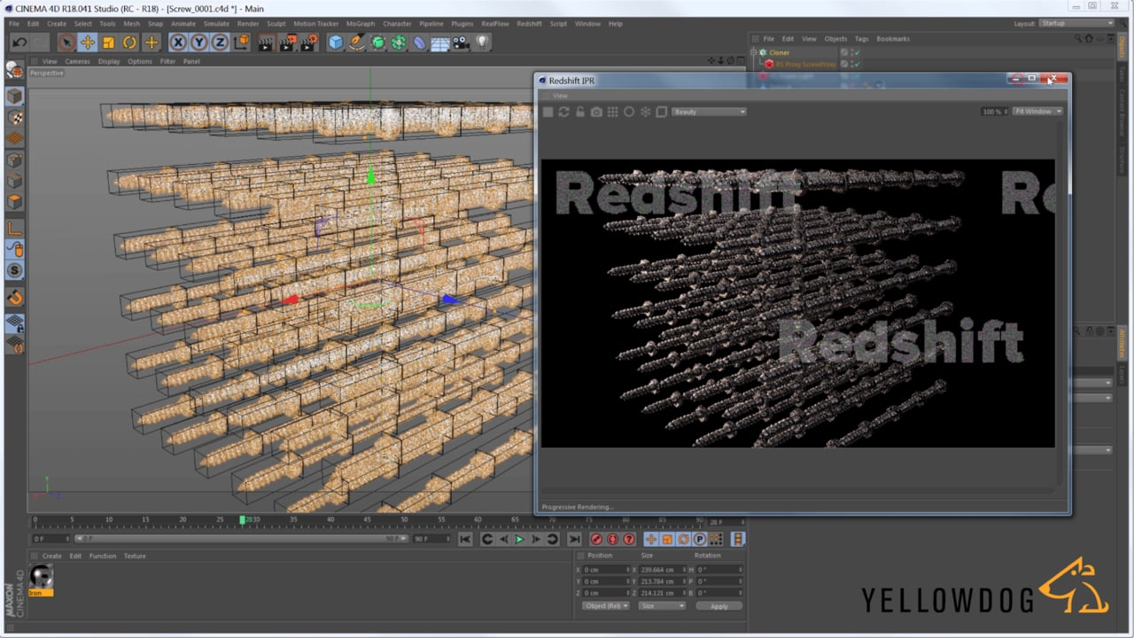3 Tutorials on Redshift Proxies in Cinema 4D