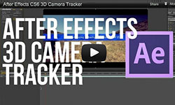 Tutorial: After Effects CS6 3D Camera Tracker