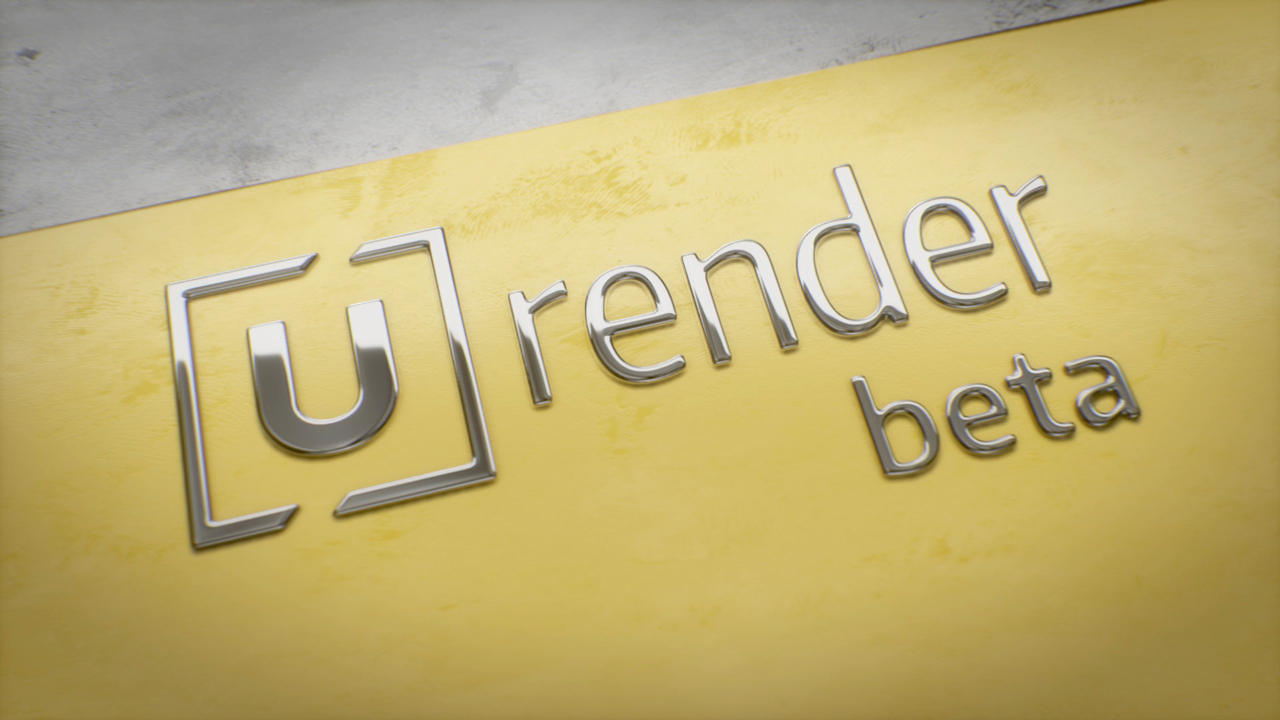 Beta: U-RENDER Beta 4 is Available Now