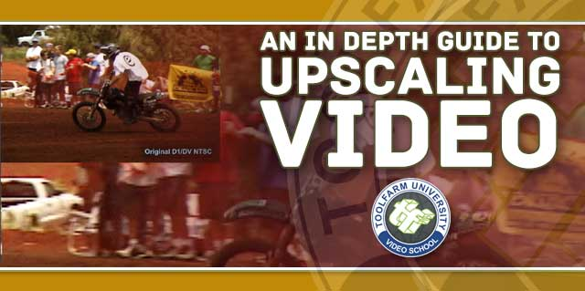 Upscaling video