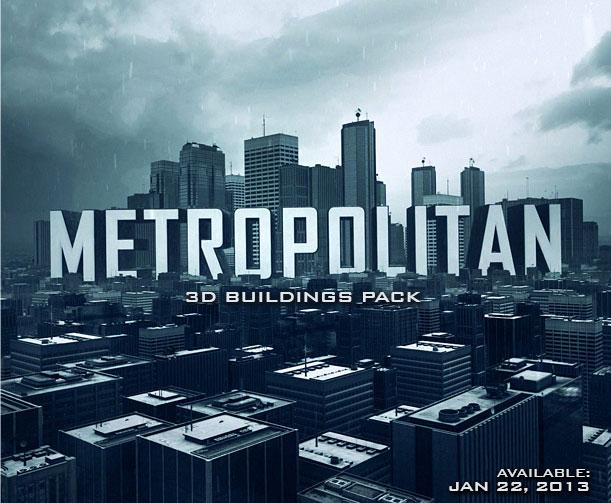 Metropolitan Element 3D Pack