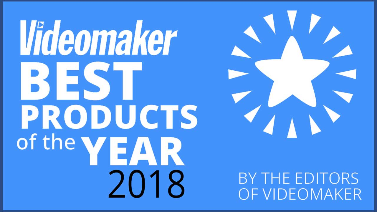 News: Videomaker's Best Products of the Year 2018 Includes Red Giant, Blackmagic, Adobe