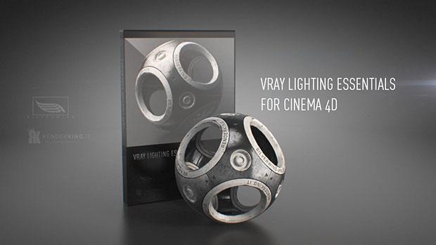 New: Renderking Vray Lighting Essentials Scenes for CINEMA 4D - Toolfarm