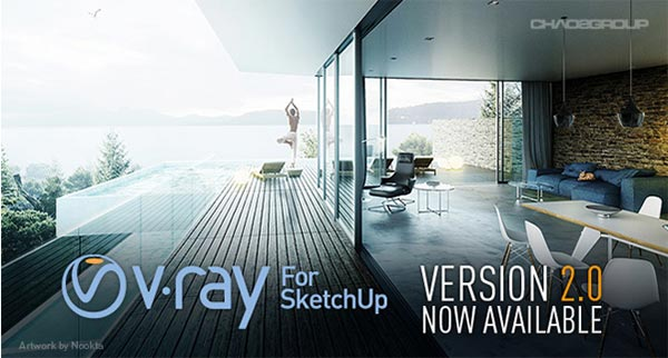 Update: V-Ray 2 0 for SketchUp Service Pack 1 Available - Toolfarm