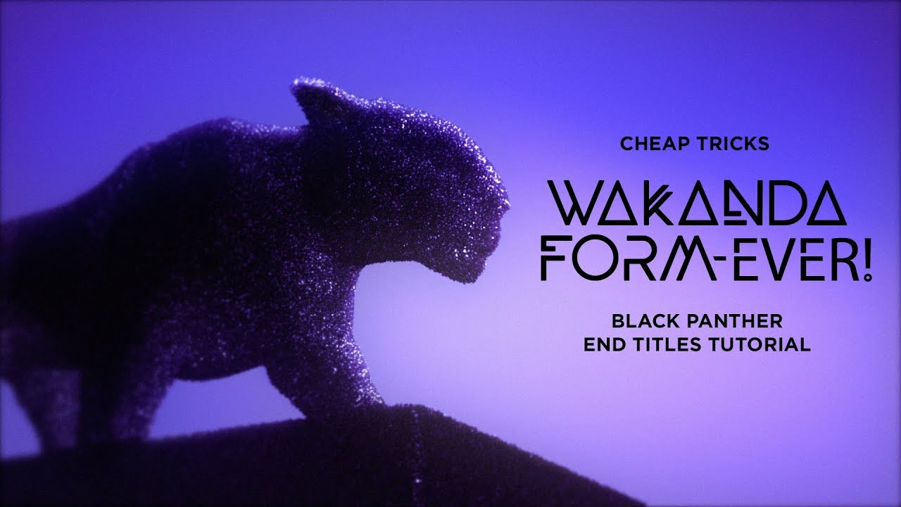 Wakanda Form Ever By Action Movie Dad Red Giant Cheap Tricks Toolfarm