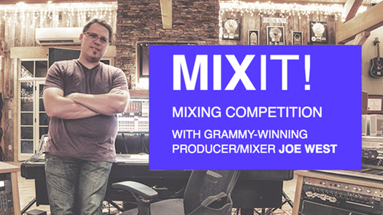 News: Mix It! Waves Mixing Competition with Joe West